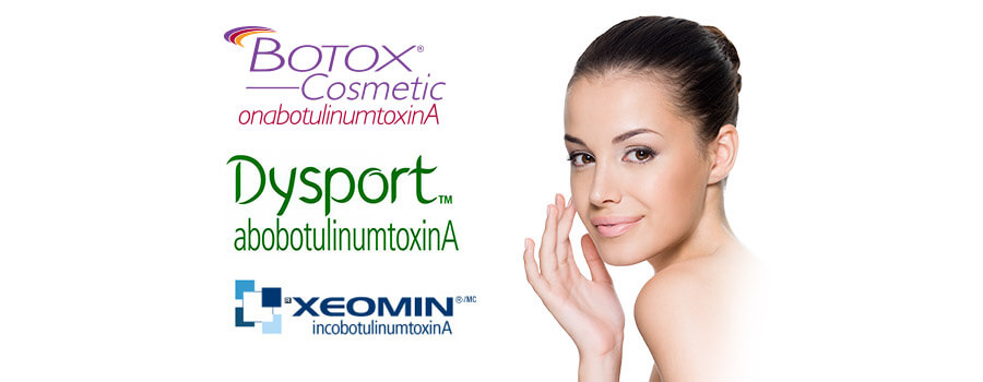 Botox Xeomin Dysport- Featured Image