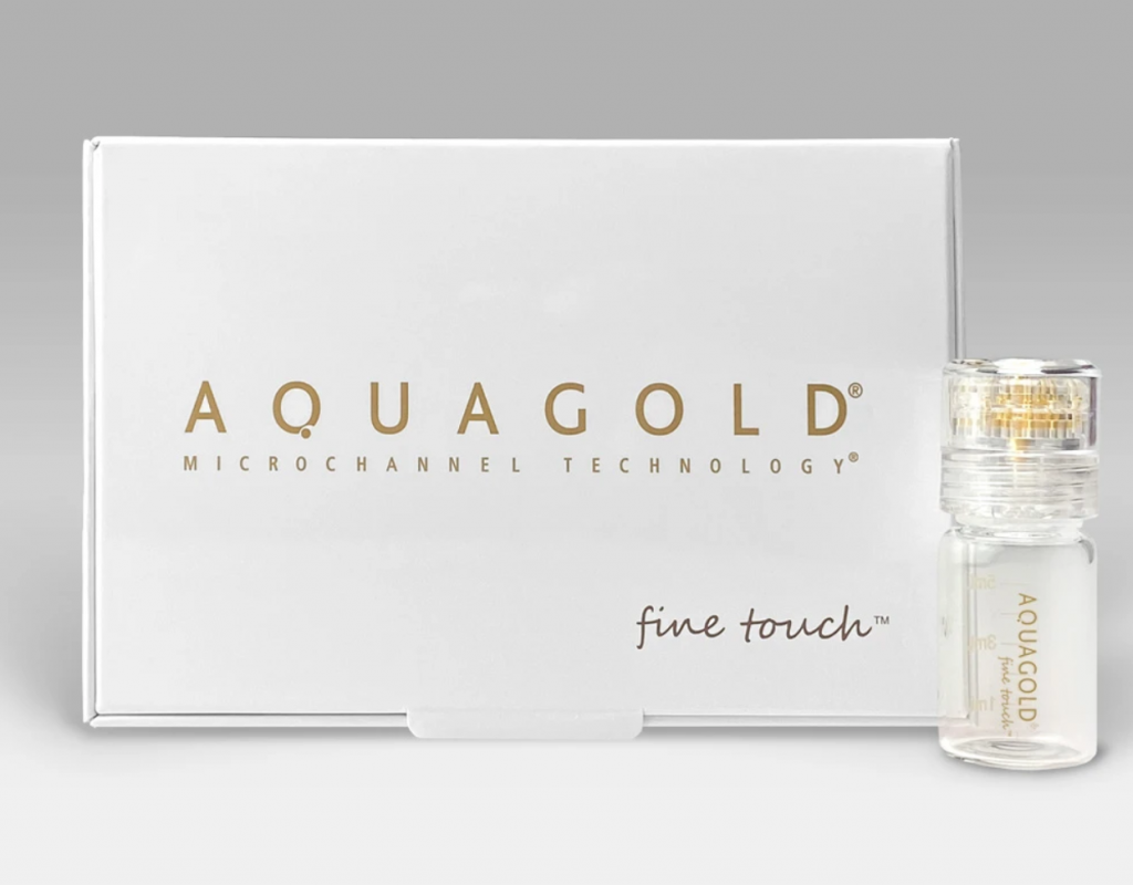 AQUAGOLD® fine touch™ box and product